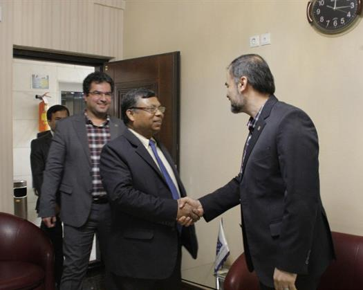 Meeting Between the Embassy of Bangladesh and TUMS Authority for Expanding Joint Medical Research Collaborations